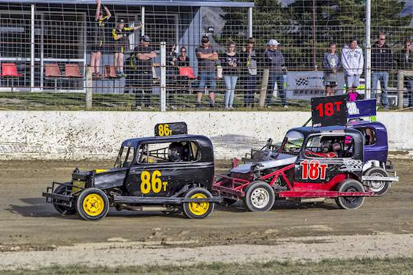 Youth Ministocks - Central Motor Speedway, Cromwell